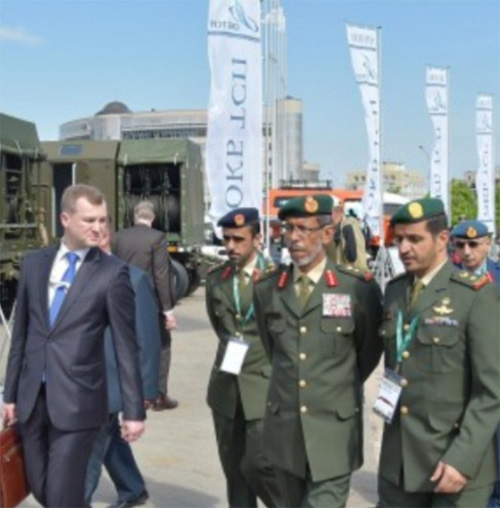 Lt. General Hamad Mohammed Thani Al Rumaithi, Chief-of-Staff of the UAE Armed Forces at MILEX-2017