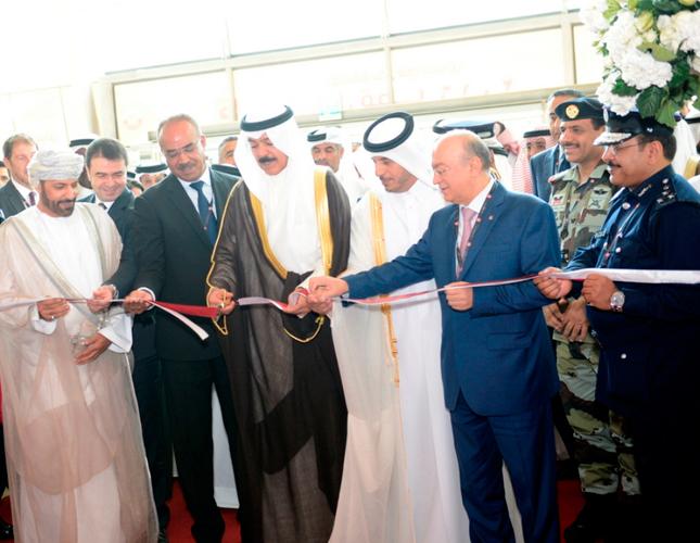 Qatar's Prime Minister Opens Milipol Qatar 2016