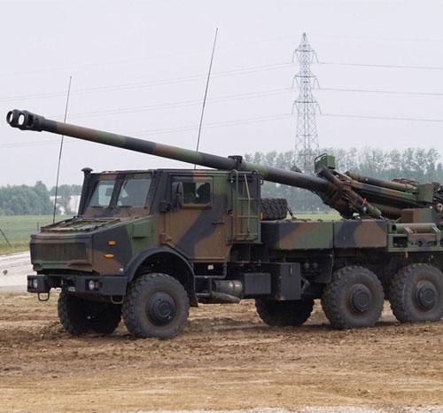 Nexter Artillery & Weapon Systems at ShieldAfrica 2017