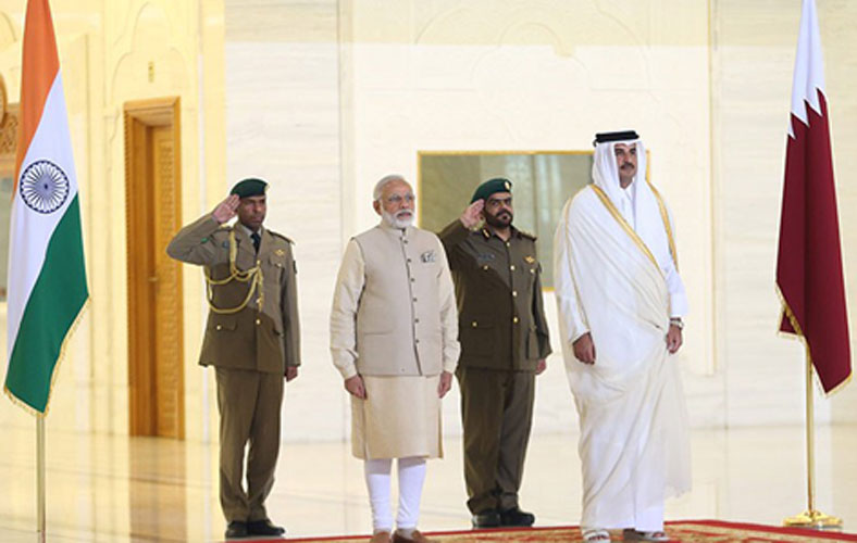 Qatar, India to Boost Defense, Cybersecurity Cooperation