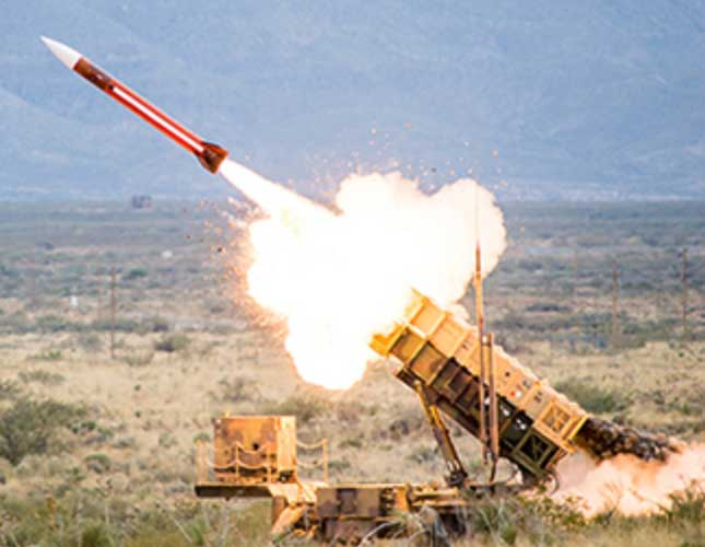 Raytheon Starts Work on Patriot's Enhancements