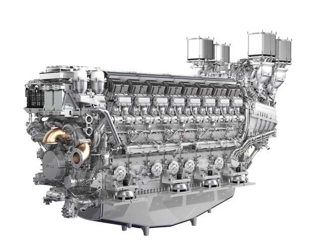 Rolls-Royce Presents New 16-Cylinder Engine at Euronaval