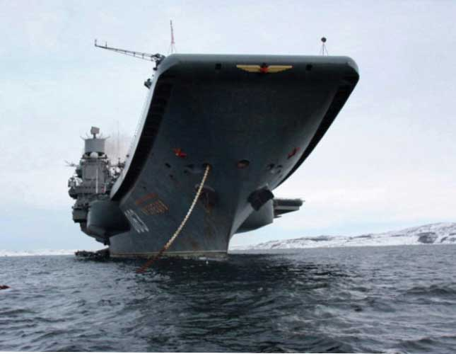 Russia to Deploy Aircraft Carrier to Mediterranean Sea