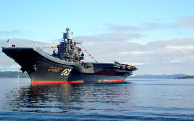 Admiral Kuznetsov Aircraft-Carrier Returns from Syria