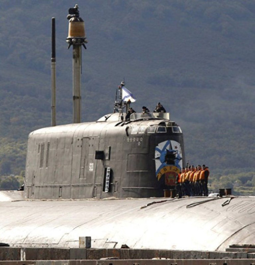 Russia's Antey Nuclear Subs to Carry Kalibr Cruise Missiles