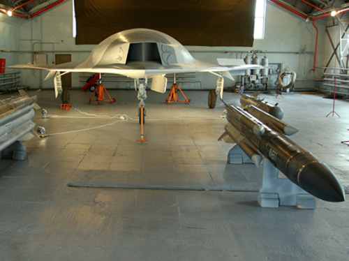 Russia Developing 'Flying-Wing' Strike Drone
