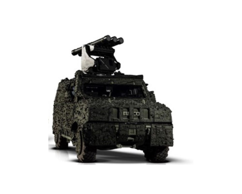 Saab Presents Mobile SHORAD at DSEI for First Time