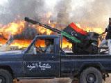 Libyan Rebels Storm Qaddafi's HQ