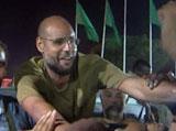 Qaddafi's Son Appears in Public