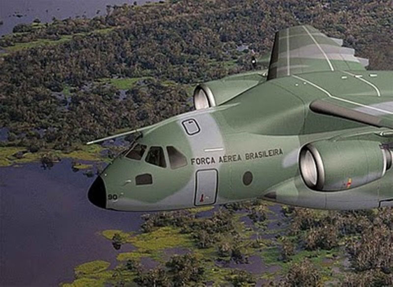 Embraer Chooses R&S M3AR Radios for KC-390