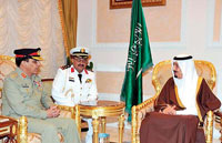 Saudi Arabia, Pakistan to Enhance Military Ties