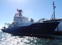 US Naval Research Ship Docks at Austal