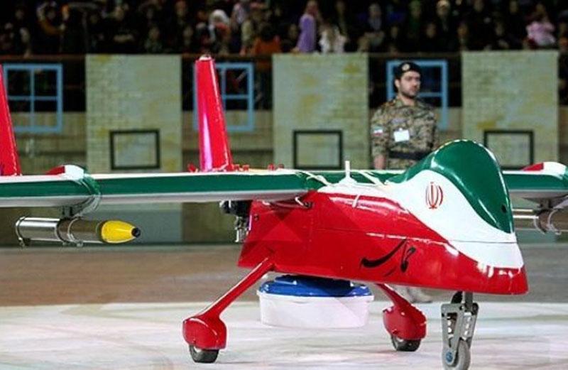 Iran Unveils Stealth Reconnaissance, Combat Drone