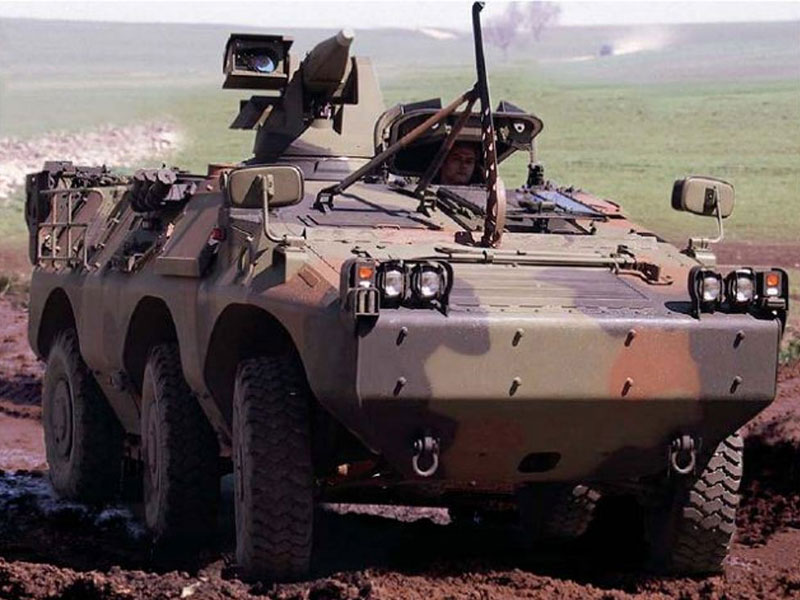 Libya Receives 20 Armoured Vehicles & Clothes from Italy