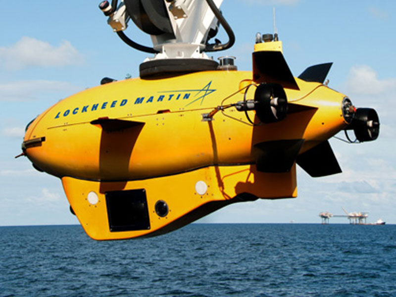 Lockheed Develops New System for Underwater Inspection