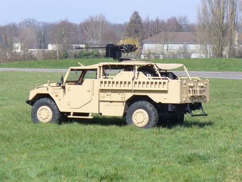 New Guns for Renault Trucks Defense Sherpa