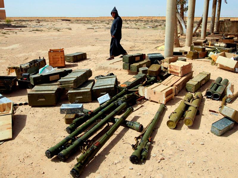 """U.N.: """"Libya Arms Spreading in the Region"""""""