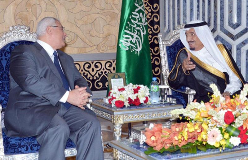 Egypt's Interim President Visits Saudi Arabia