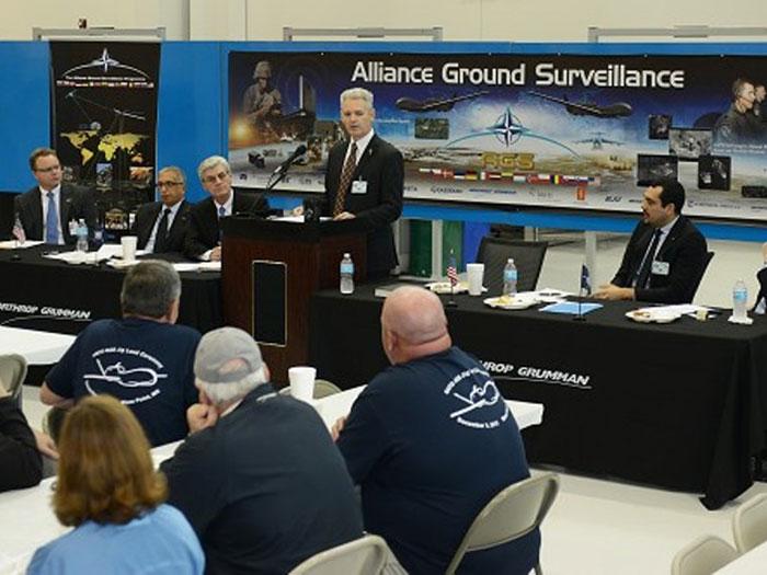 NGC Starts Production of 1st NATO Global Hawk