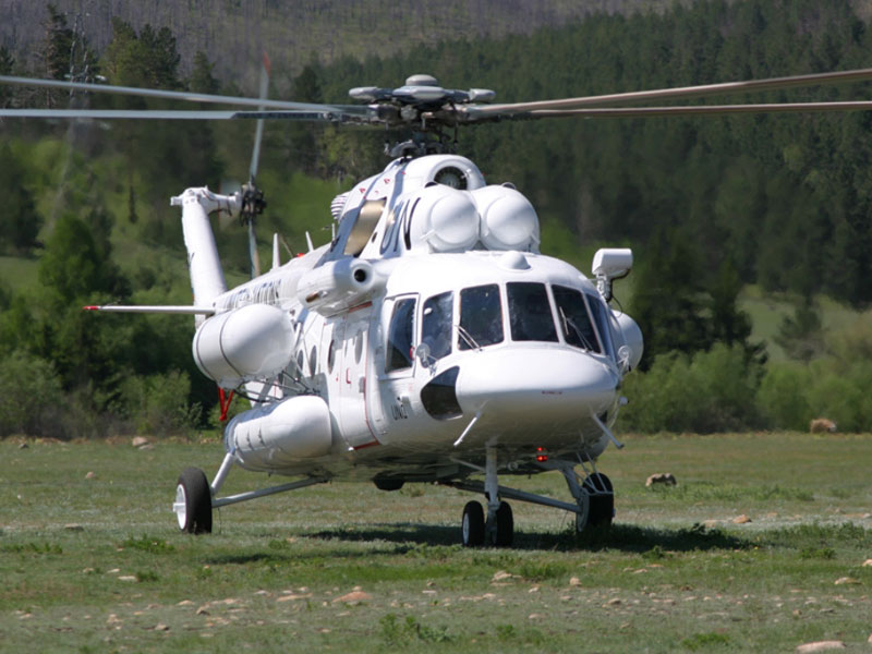 Over 150 Russian-Made Helicopters in UN Peace Missions