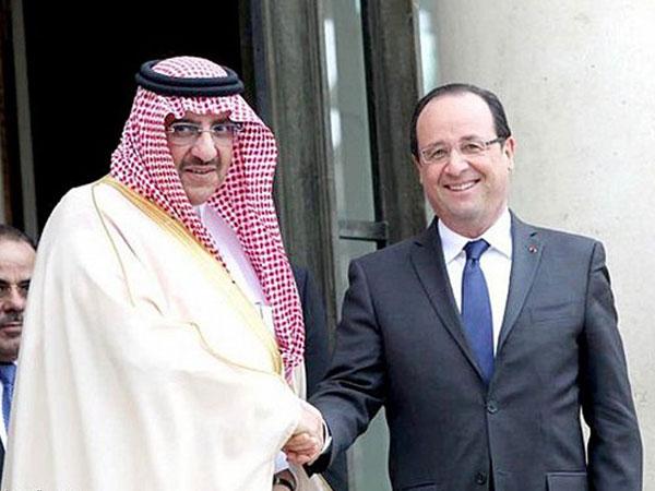 Prince Mohammed bin Naif Visits France