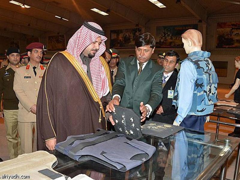 Prince Salman bin Sultan Tours Pakistani Military Factories
