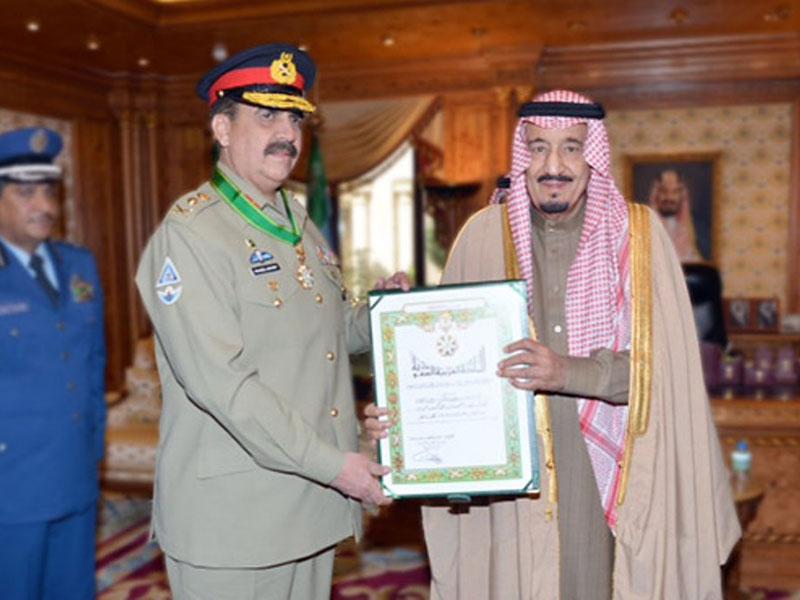 Saudi Crown Prince Meets Top Pakistani Chiefs