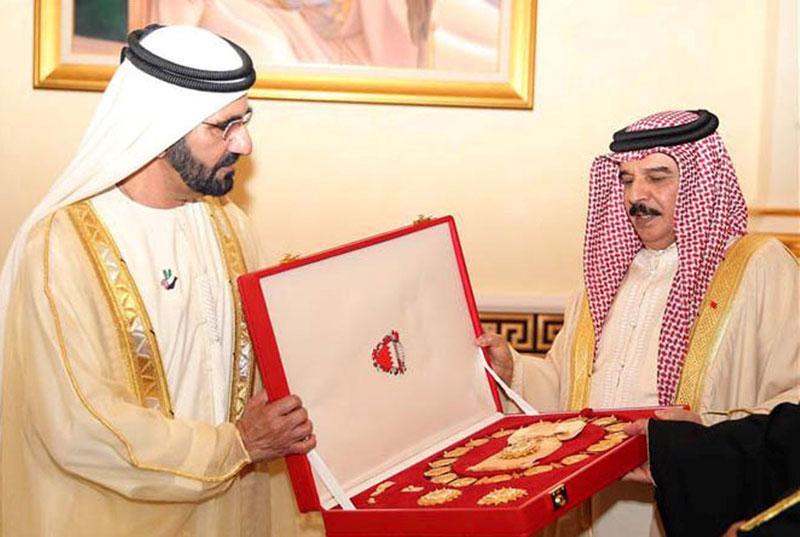 UAE's Prime Minister Visits Bahrain Airshow