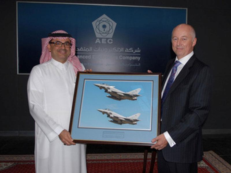 AEC Named Typhoon Avionics Repair Agent in Saudi Arabia