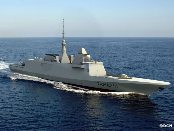 DCNS to Supply 4 Corvette Frigates to Egypt