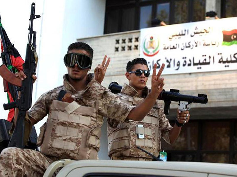 Egypt to Train Libyan Forces to Fight Terrorism