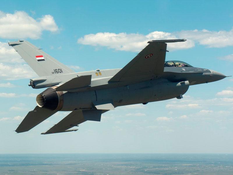 First Iraqi F-16 Fighting Falcon Completes First Flight