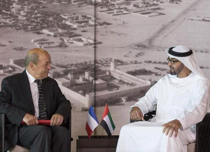 French Defense Minister Visits UAE, Egypt