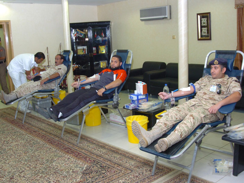 Kuwait Army Launches Blood Donation Campaign