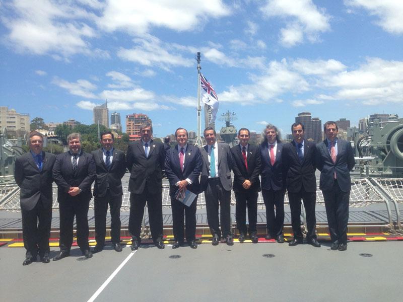 Navantia Hands Over HMAS Canberra to Australian Navy