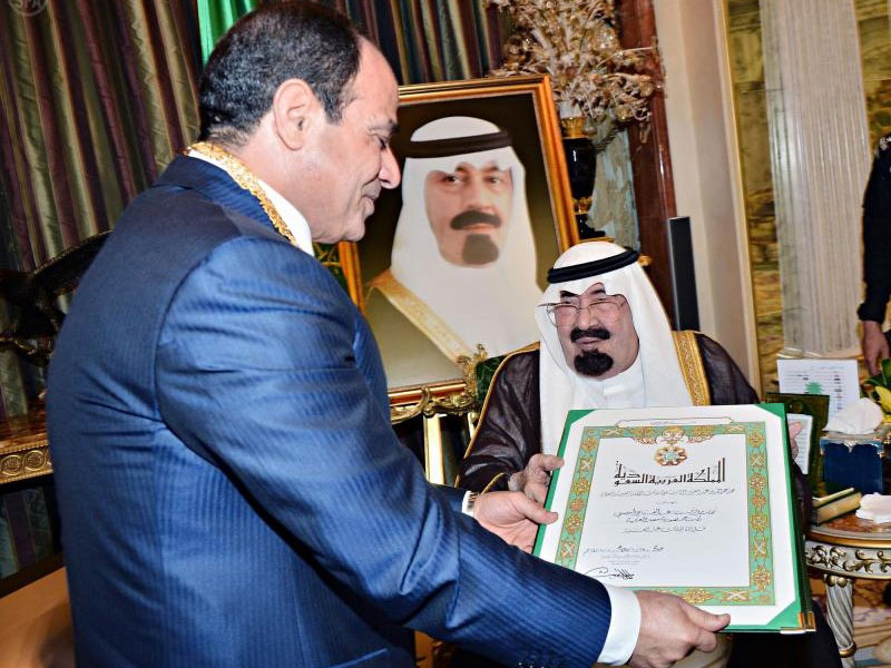 New Egyptian President Pays 1st Official Visit to Saudi Arabia