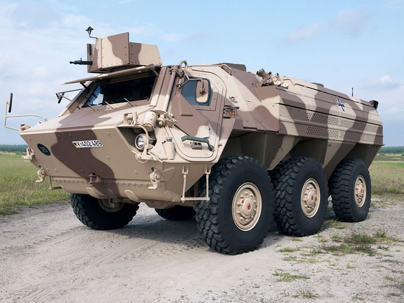 Rheinmetall to Build Fuchs Assembly Plant in Algeria