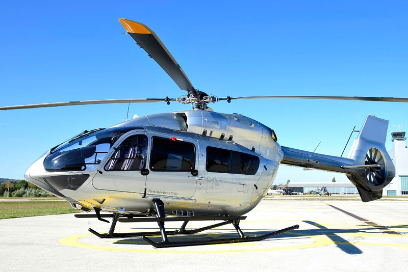 Airbus Helicopters Introduces H145 Mercedes-Benz Style