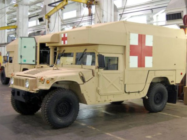 AM General Secures 6-Year Configured Ambulances Contract