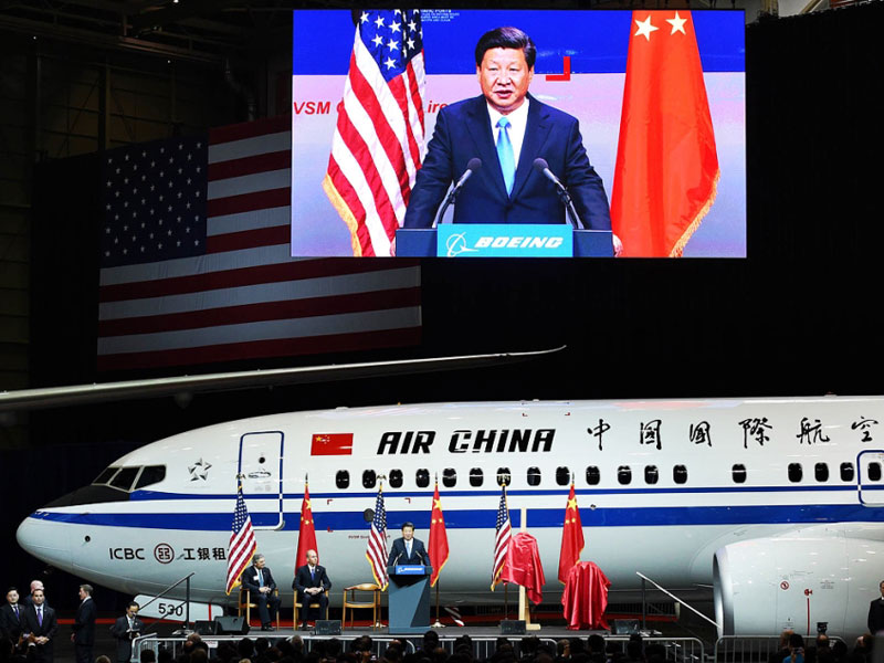 Boeing Lands $38 Billion Orders with Chinese Airlines