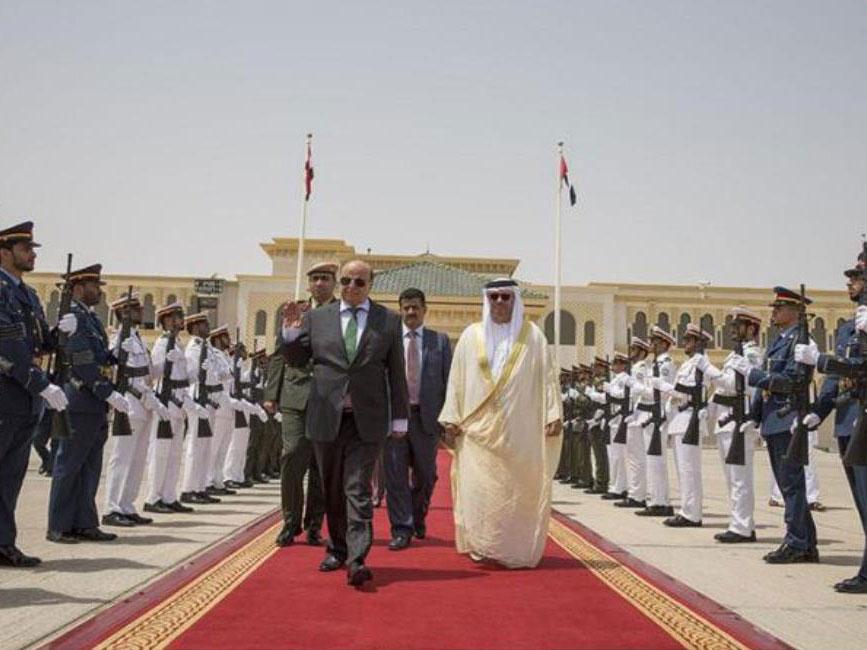 Exiled Yemeni President Visits UAE