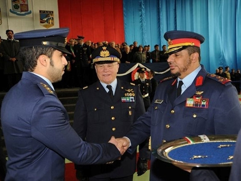 Five Kuwaiti Pilots Graduate from Largest Italian Air Base