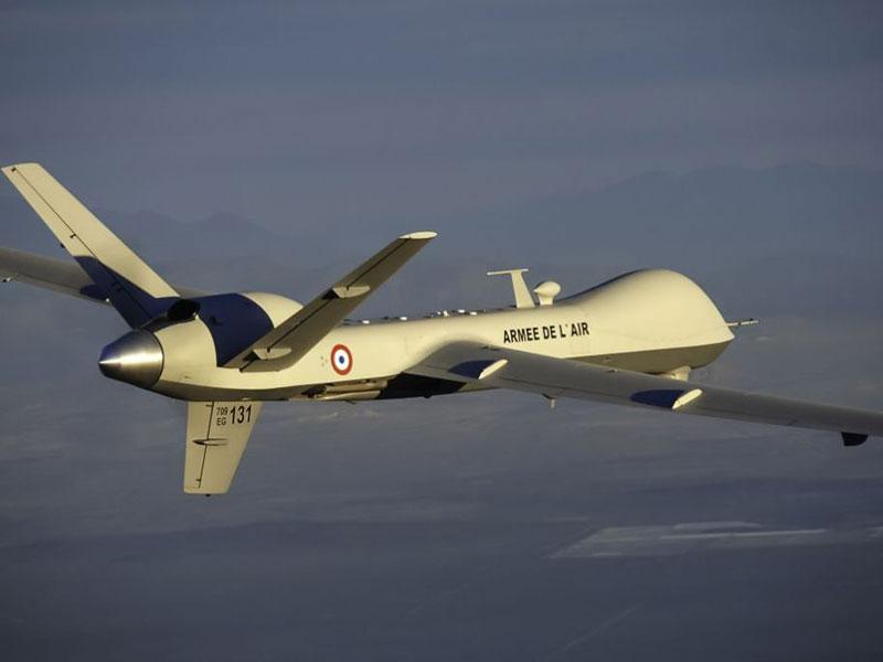 French Air Force Receives 3rd Predator B/MQ-9 Reaper