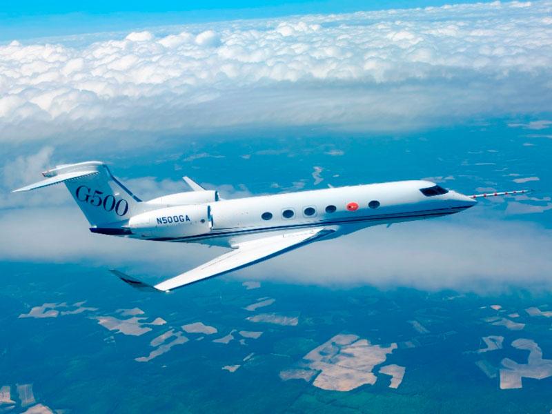 Gulfstream G500 Completes Five Test Flights