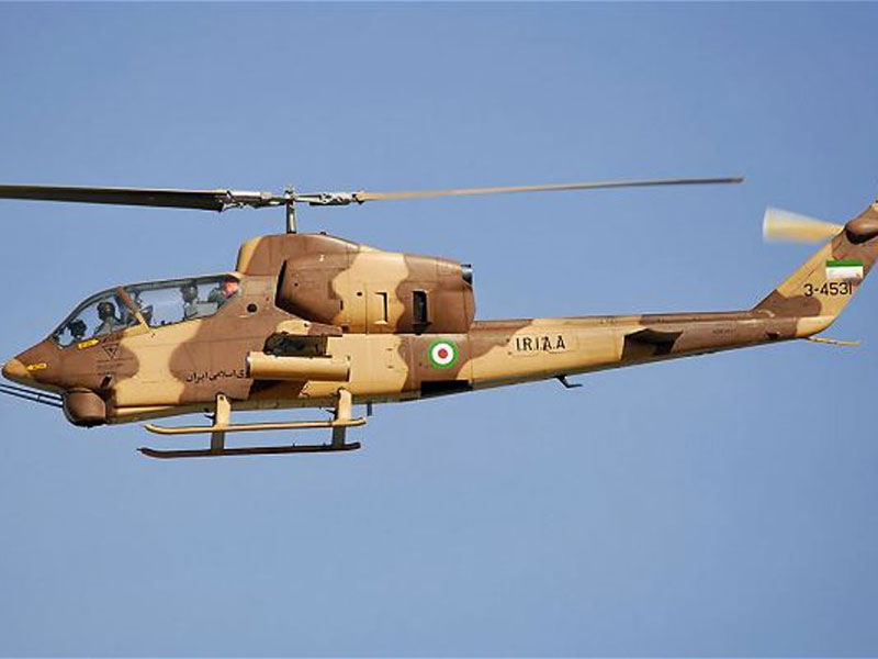 Iran Equips its Helicopters with Night Vision Systems