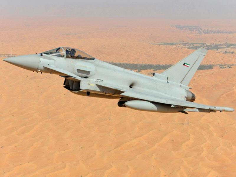 Kuwait Orders 28 Eurofighter Typhoon Fighter Jets