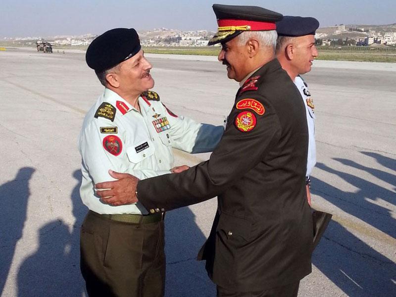 Kuwait's Army Chief-of-Staff Visits Jordan