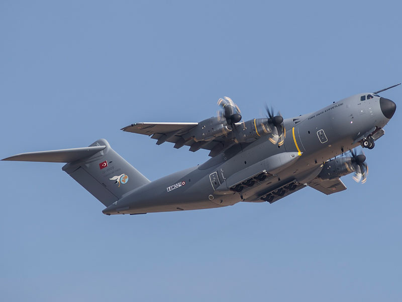Largest Military Transport Plane Completes US-Turkey Trip