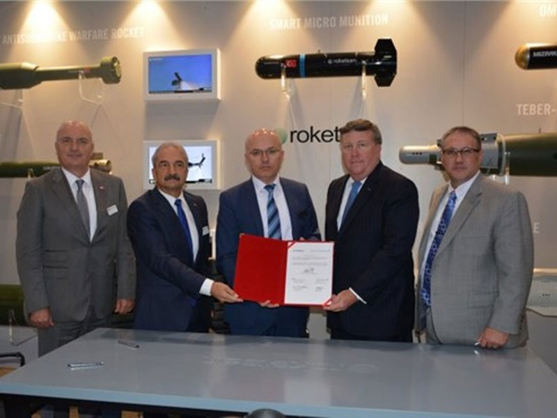 Lockheed Martin, Roketsan to Develop SOM-J Missile for F-35