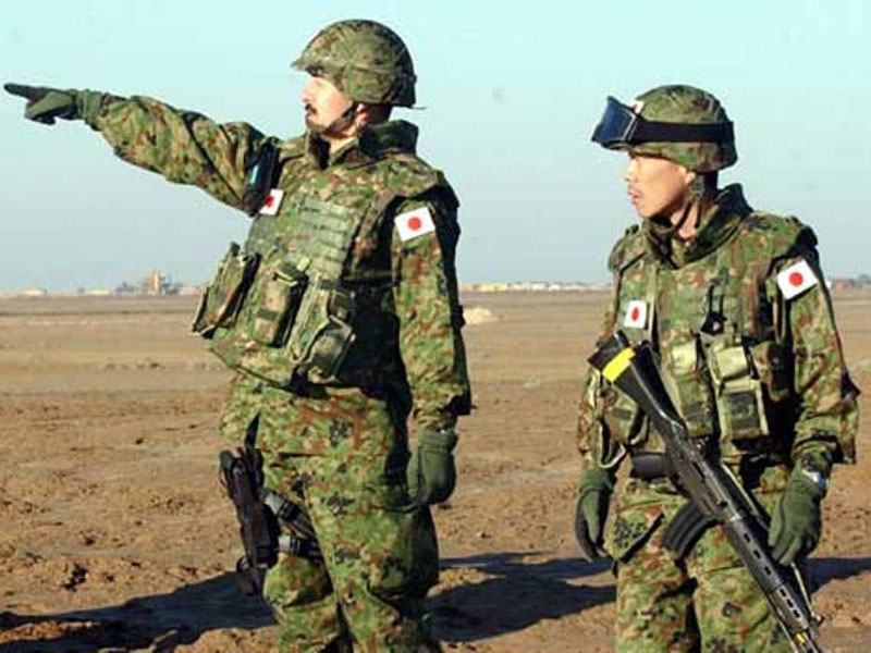 New Japan Bill Allows Troops to Fight Abroad